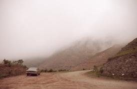 Fog above Tafí del Valle