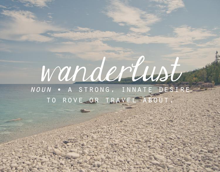 Wanderlust11x14