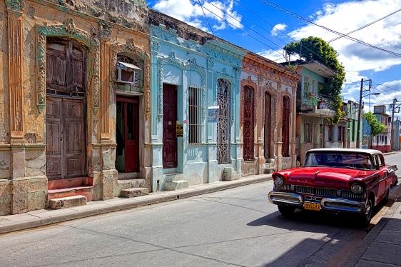 Street in Holguin, Cuba.
