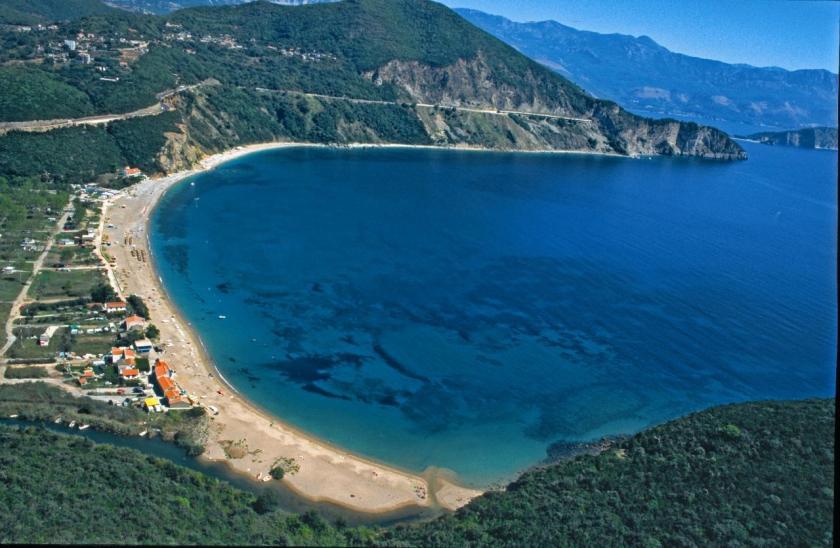 jaz beach, budva