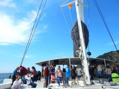 Best Boat Ride: TBEX Catamaran Sailing Party