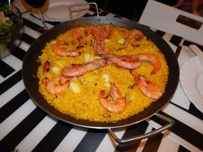 Best homemade dish: Seafood Paella by my Barcelona Airbnb host