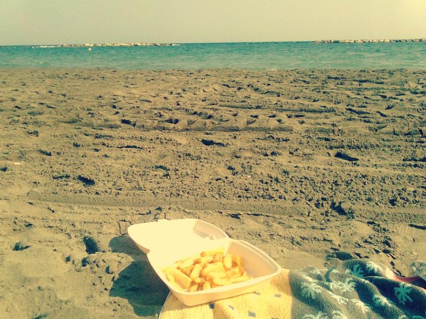 beach chips