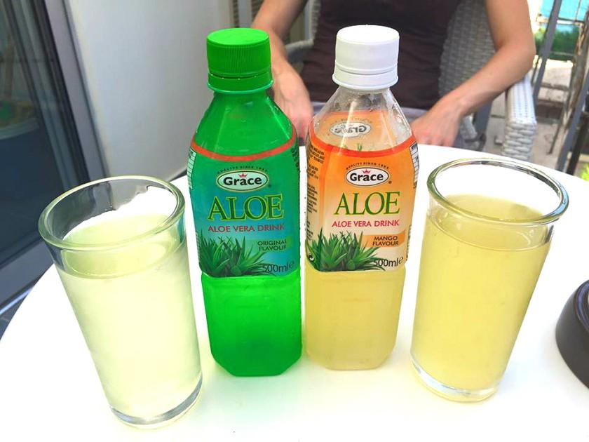 aloe drinks