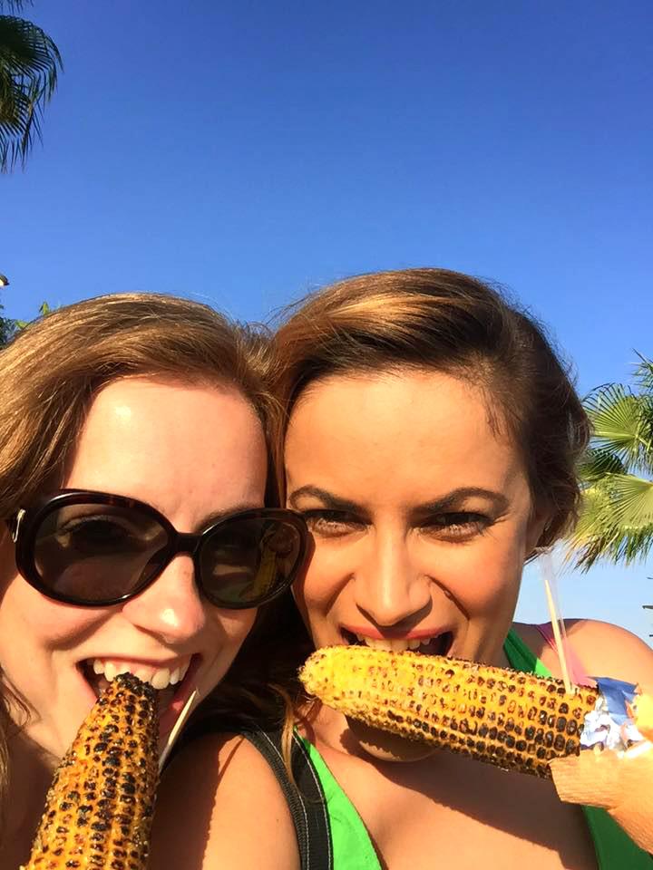 corn selfie