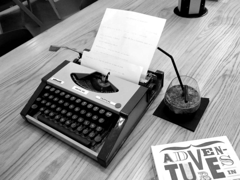 Moxy typewriter