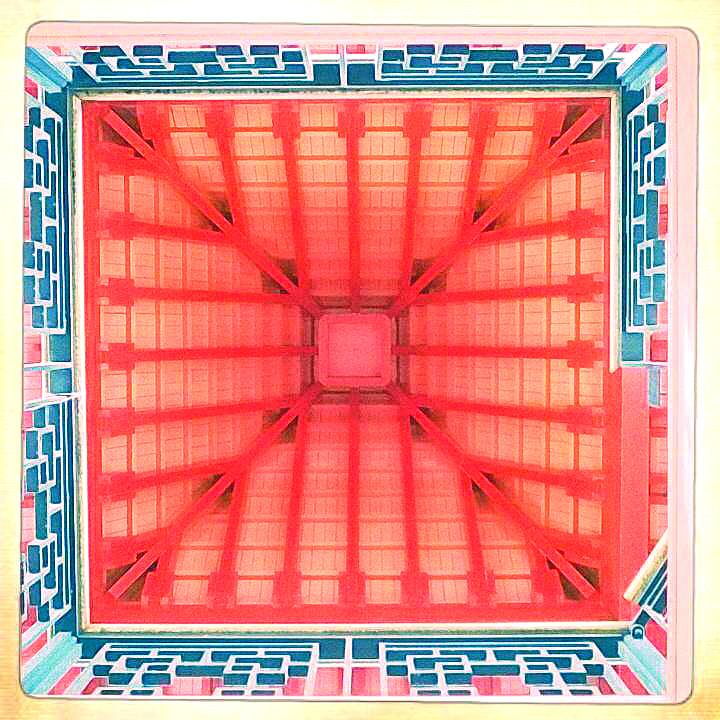 Inside Chinese Pagoda