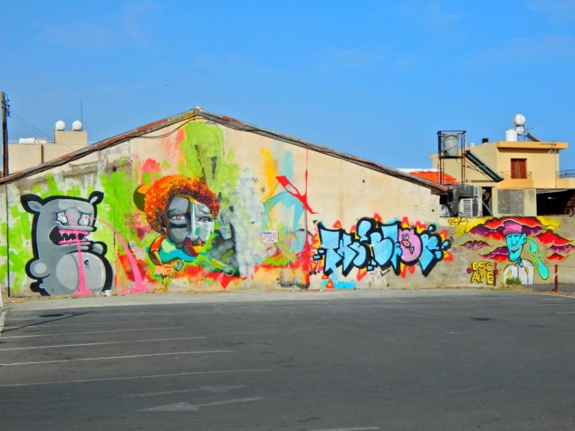 parking lot graffiti